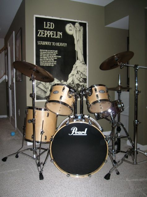 Crappy picture of new drums
